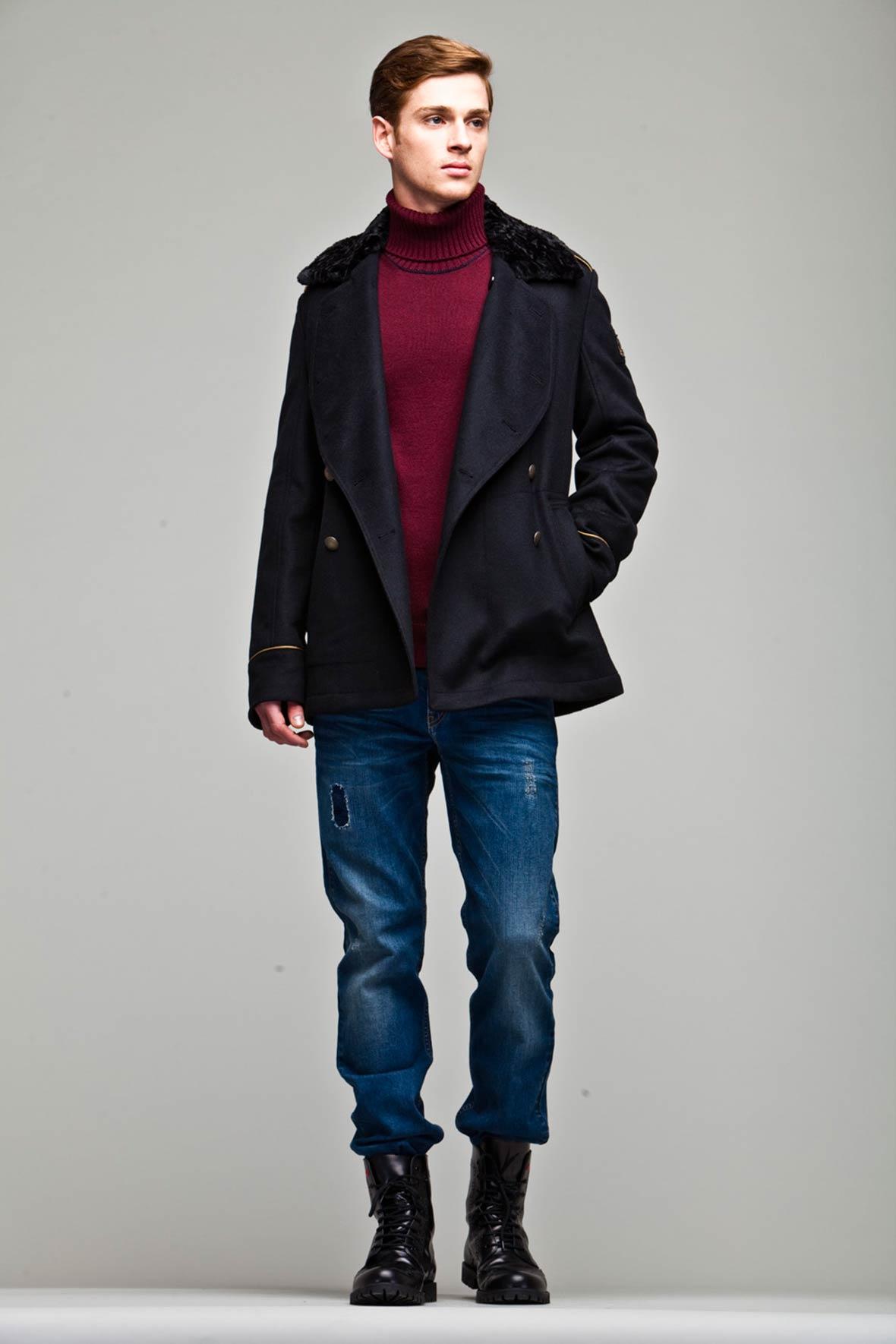 Lucas Mascarini Graces Love Moschino Fall/Winter 2013 Lookbook