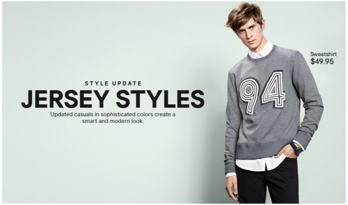 Mathias Lauridsen Rocks Jersey Styles for H&M