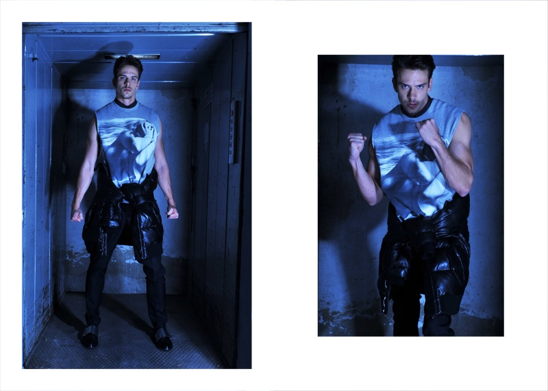 Ricardo Figueiredo in Givenchy Fall/Winter 2013 for Fashionisto Exclusive by Daniel Rodrigues
