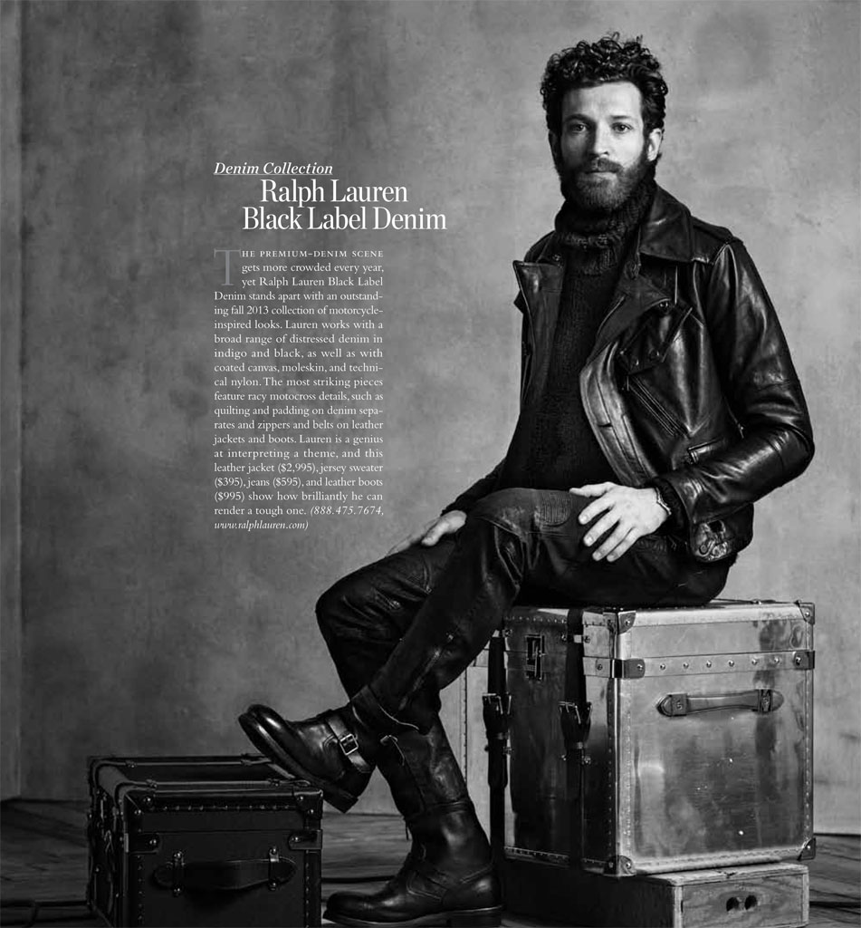 Neil Gavin Photographs Oliver Russel in Fall Styles for Robb Report