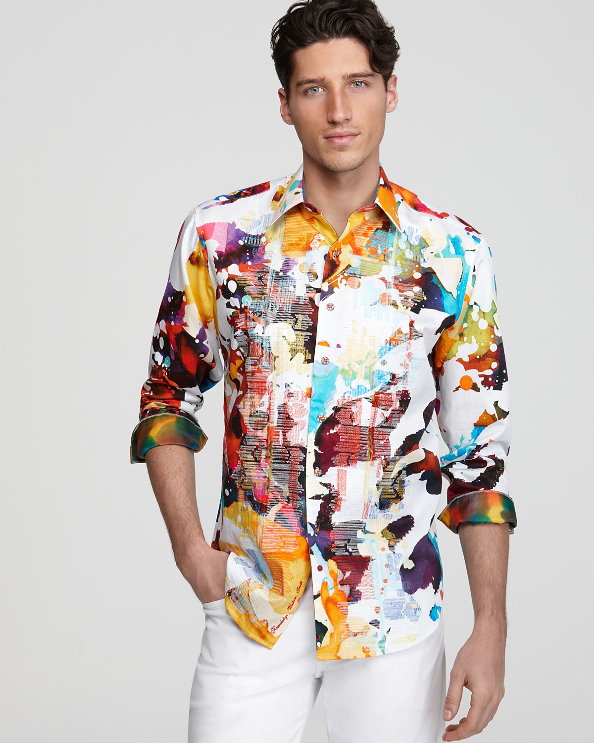 Ryan Kennedy Wears Summer Shirts for Bloomingdale's