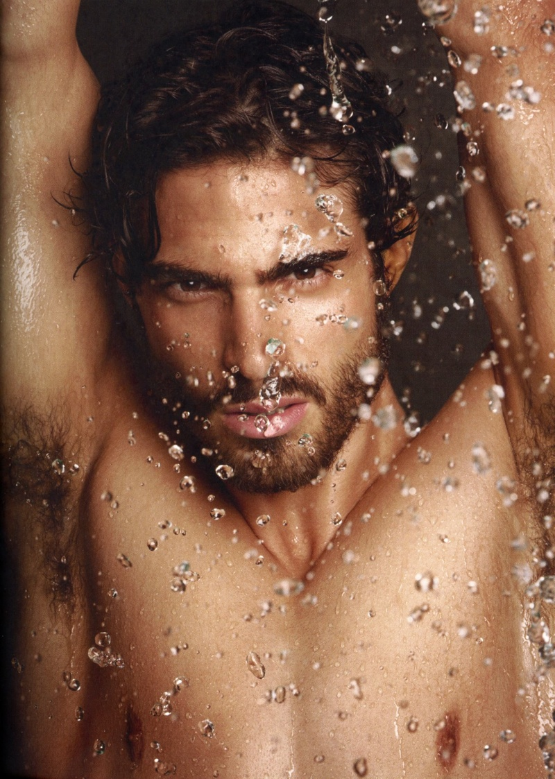 Juan Betancourt for Tom Ford Skincare & Grooming Campaign