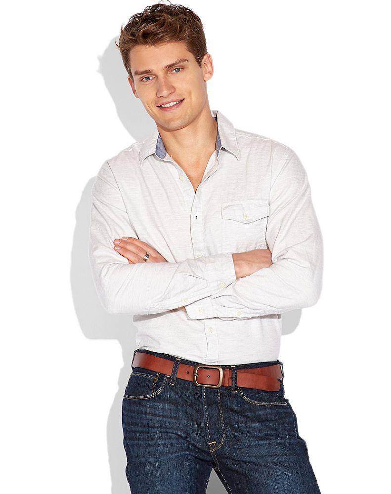 Vladimir Ivanov Models Lucky Brand s New Arrivals