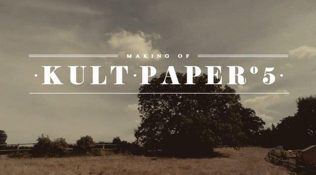 Making of Teaser | Kult Paper °5
