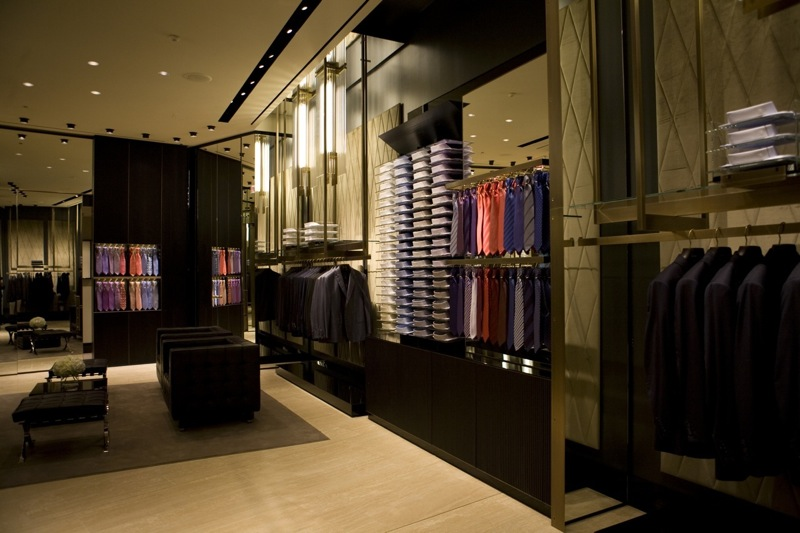 Chicago_Brioni boutique