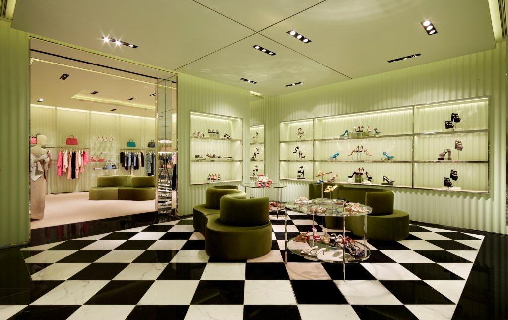 Prada Opens Their Latest Boutique In Doha Qatar The