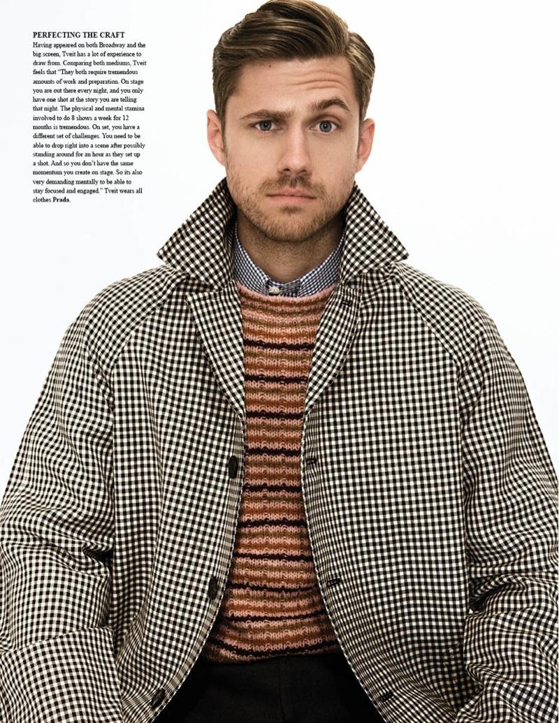 Aaron Tveit by Saria Atiye for Fashionisto #8
