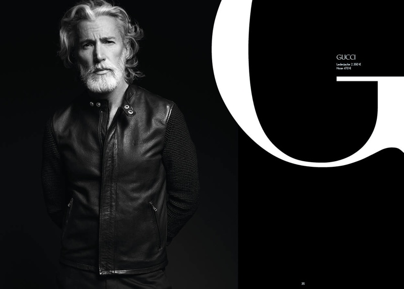 Aiden Brady Is A Leather Dandy For Apropos The Fashionisto