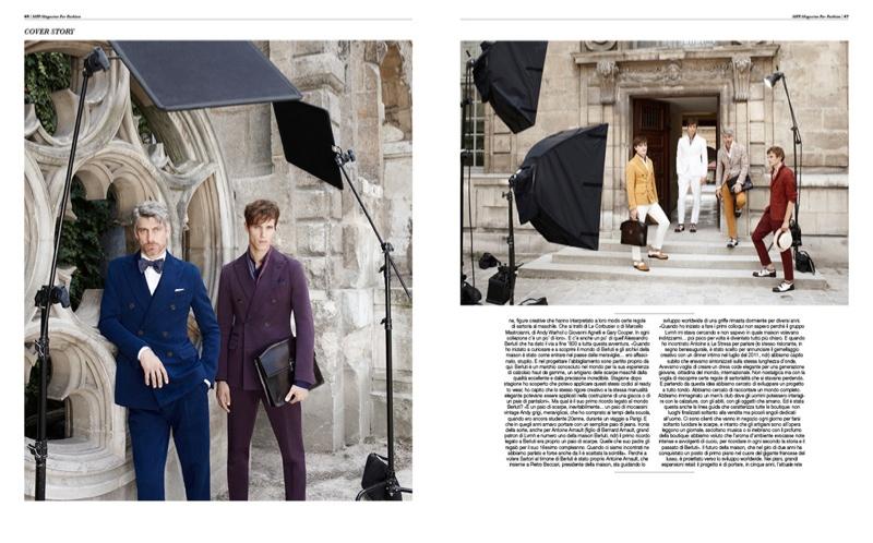 Luka Badnjar, Anthon Wellsjo & More Join Berluti Creative Director Alessandro Sartori for MF Fashion