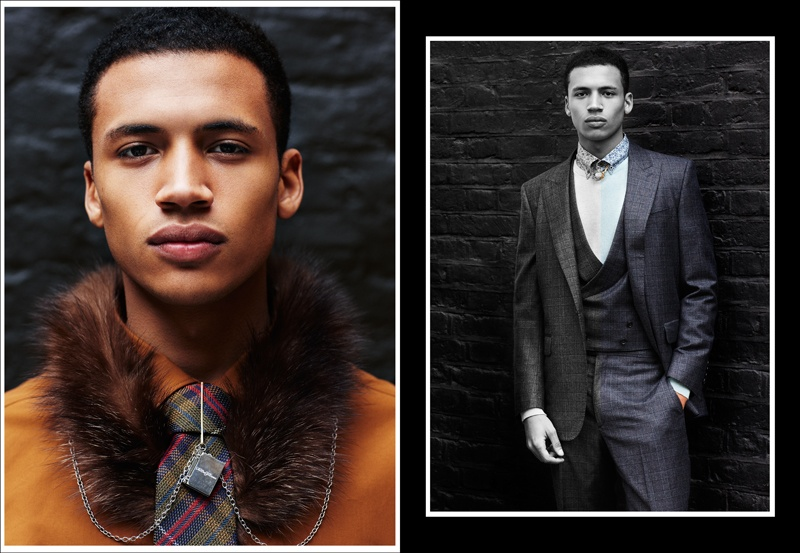 Henry Pedro-Wright & Allen Taylor by Jay Clark For Fashionisto Exclusive