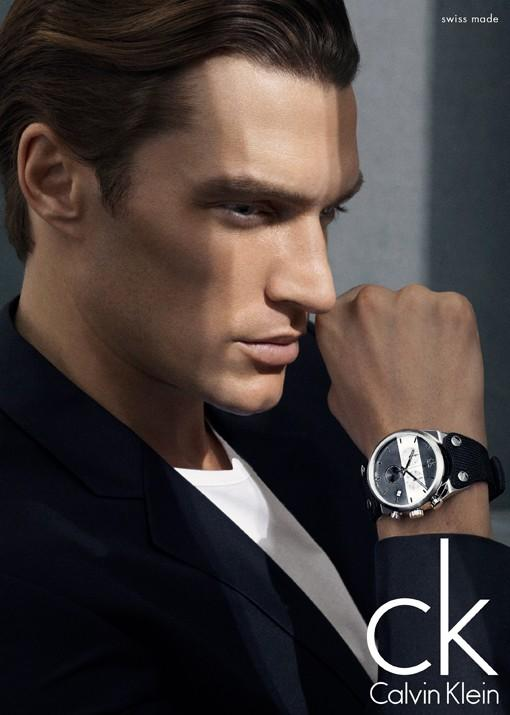 Shaun DeWet Appears in Calvin Klein Summer 2013 Watches Campaign