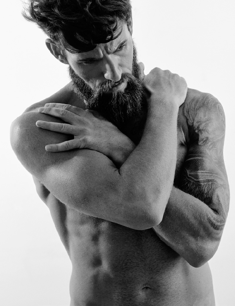 Clayton Pyle Poses for Christoph Musiol