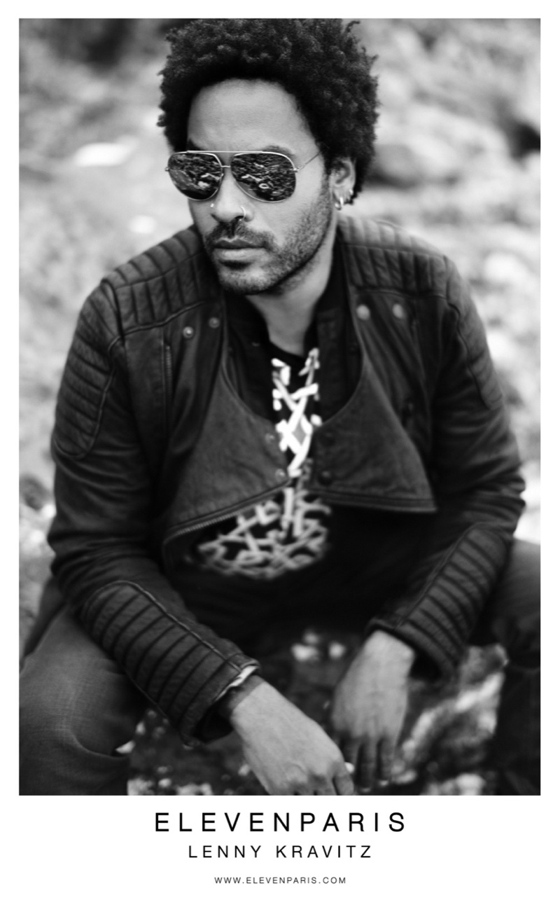 Lenny Kravitz Returns for Eleven Paris Fall/Winter 2013 Campaign