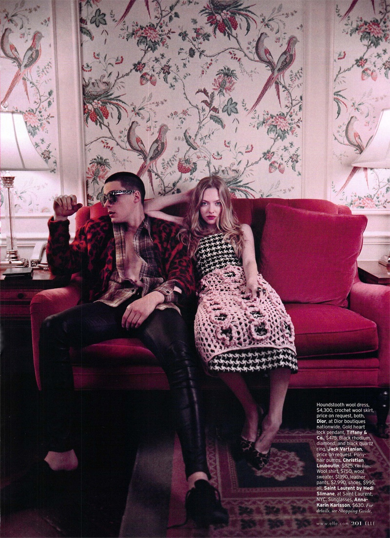 Harry Curran, Mateus Lages & More Join Amanda Seyfried for American Elle