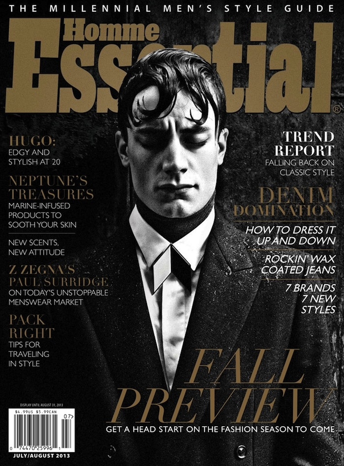 Thomas Bukovatz Covers Essential Homme's Latest Issue