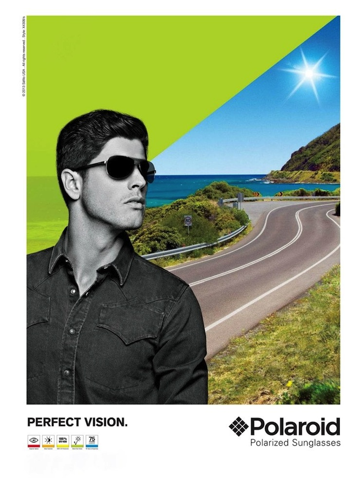 Evandro Soldati Appears In Polaroid Eyewear Summer 2013 Campaign