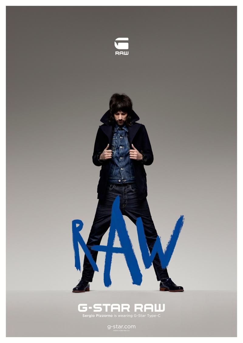 Sergio Pizzorno For G Star Raw Fall Winter 2013 Menswear