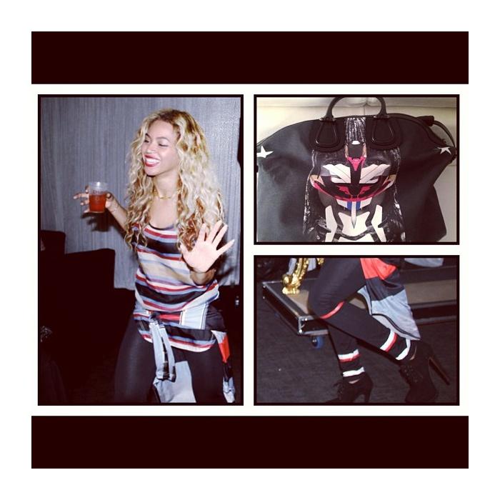 Beyoncé & Rihanna Wear Givenchy Spring/Summer 2014 Menswear