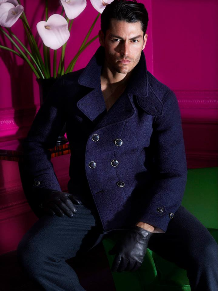 Tyson Ballou Appears in Il Bacio di Stile Fall/Winter 2013 Campaign