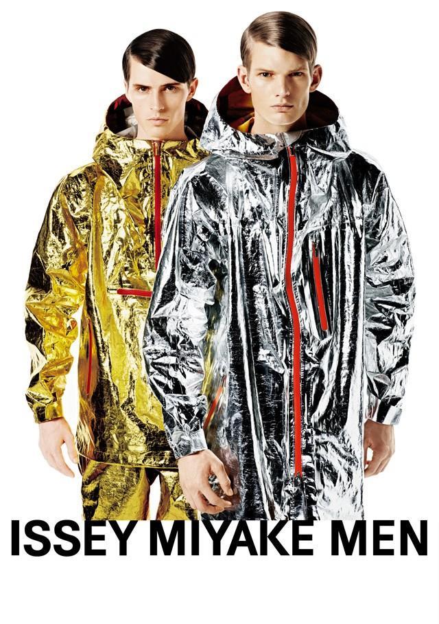 Matt King & Taylor Cowan Front Issey Miyake Fall/Winter 2013 Campaign