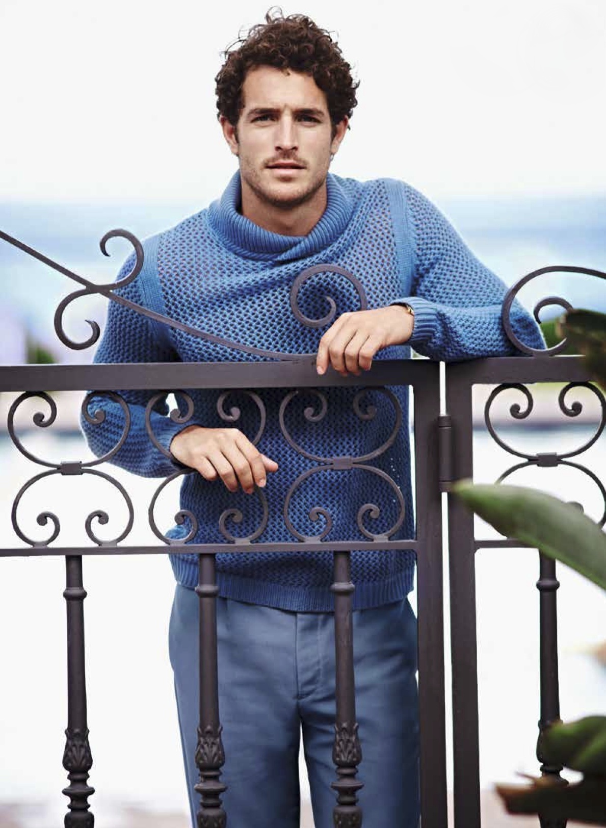 Justice Joslin Lives the Good Life for Chinese GQ