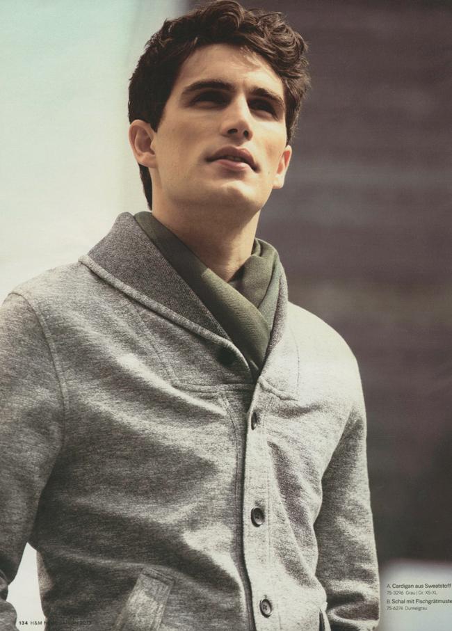 Julien Quevenne Models H&M's Summer Basics