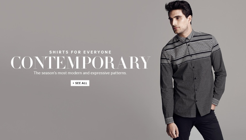 Julien Quevenne Sports H&M 'Shirts for Everyone'