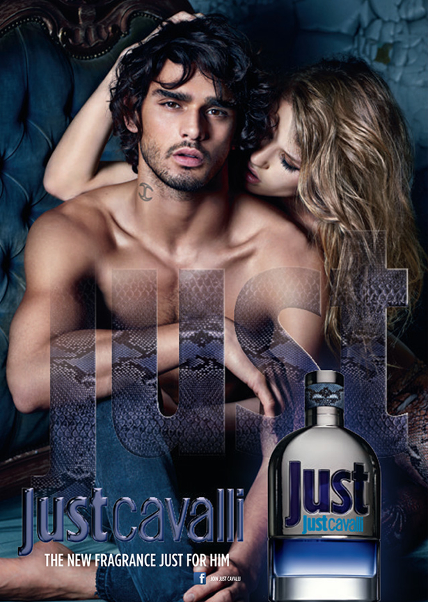 Marlon Teixeira Stars in Just Cavalli for Him Fragrance Campaign