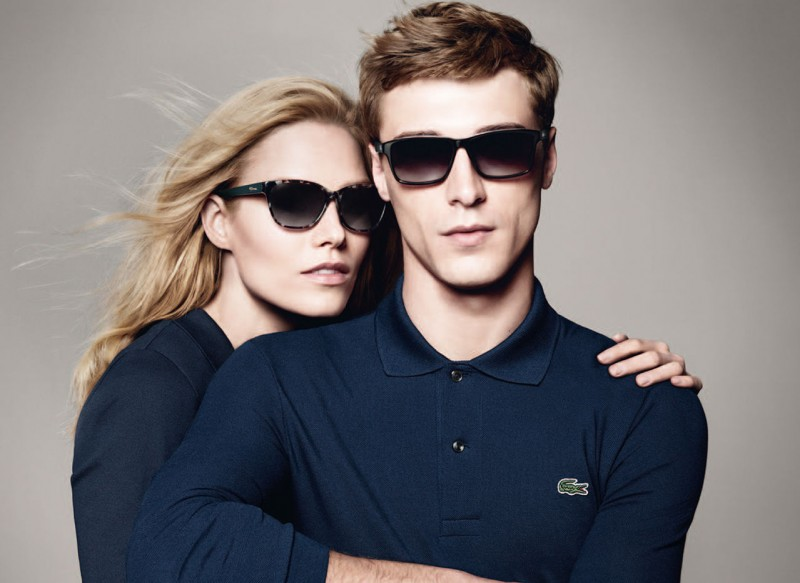 786b6af4950 Clément Chabernaud Fronts Lacoste Fall Winter 2013 Eyewear Campaign ...