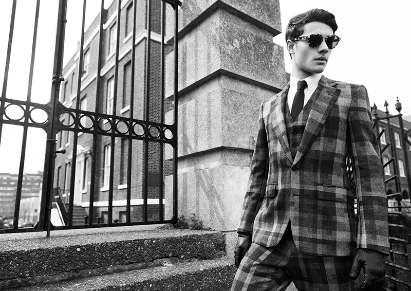 'London Calling' Featuring Hardy Amies Fall/Winter 2013 for Fashionisto Exclusive by Dennis Weber
