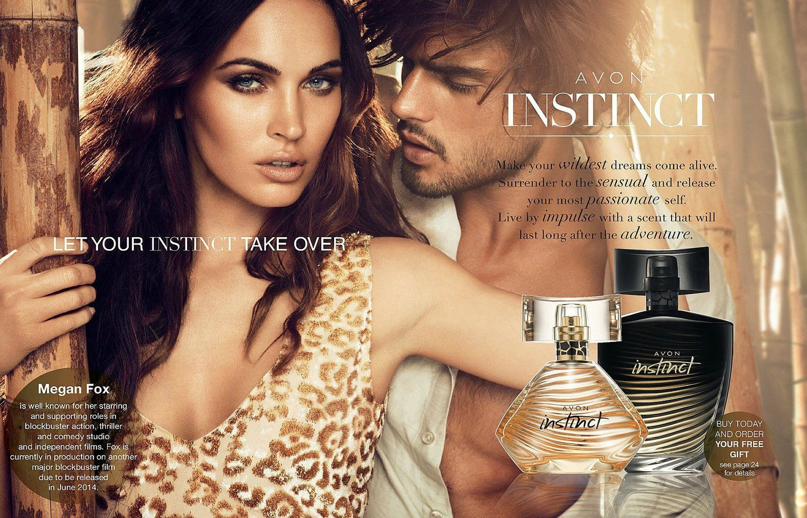 Marlon Teixeira Appears in Avon's Instinct Fragrance Campaign
