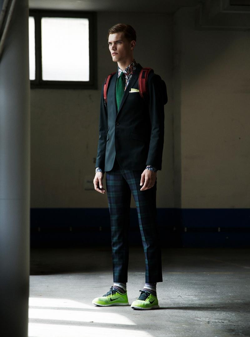 Martin Öhman Gets Sporty for King Magazine