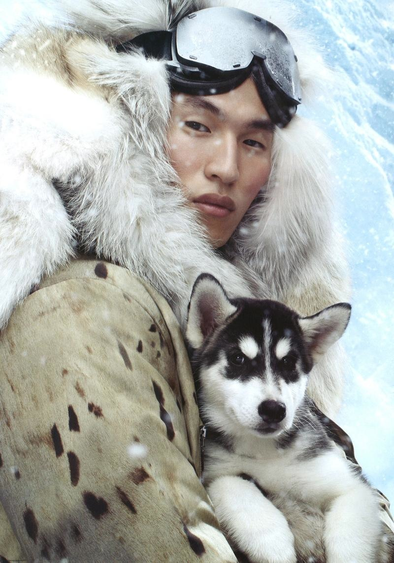 Jae Yoo Stars in Moncler Gamme Rouge Fall/Winter 2013 Campaign