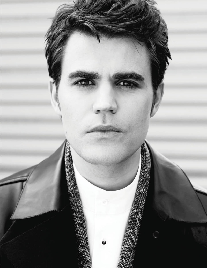 Paul Wesley for Fashionisto #8