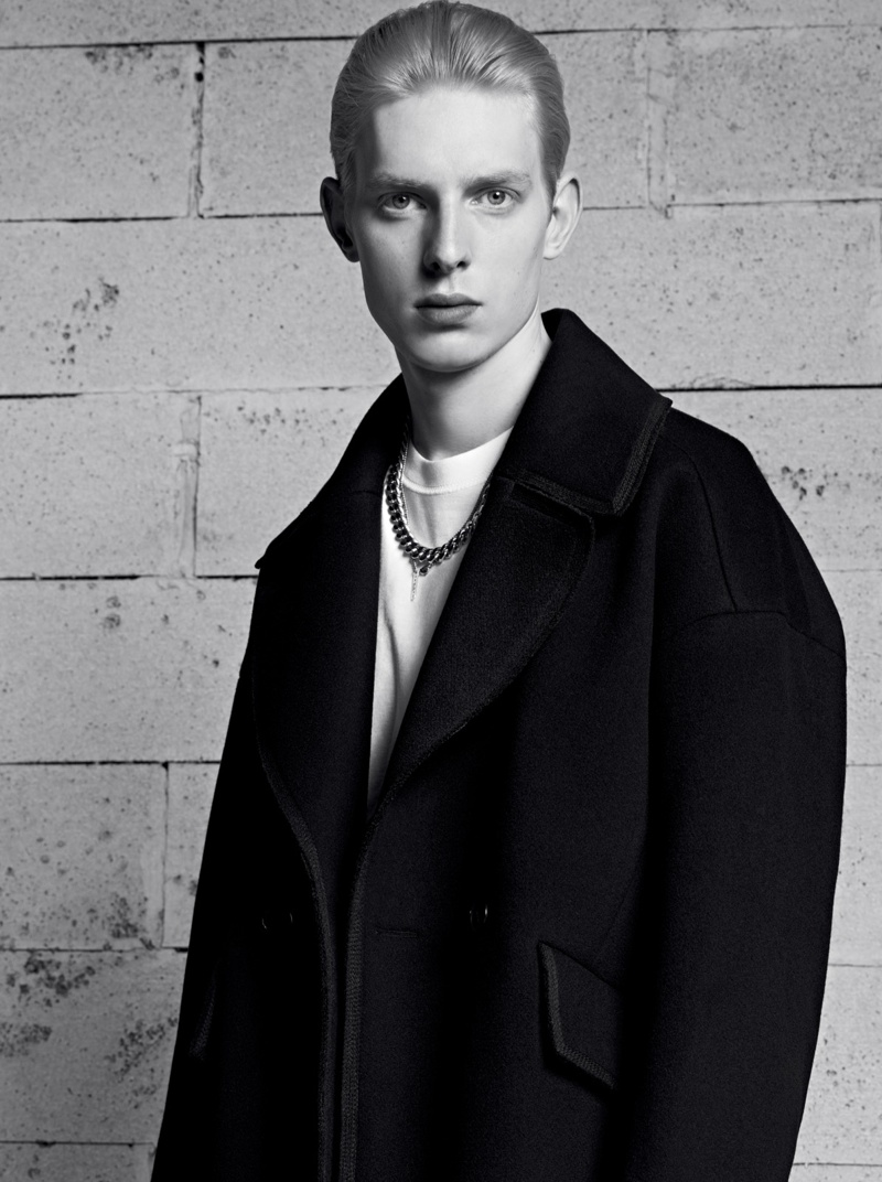 Thomas Penfound for Sandro Fall/Winter 2013