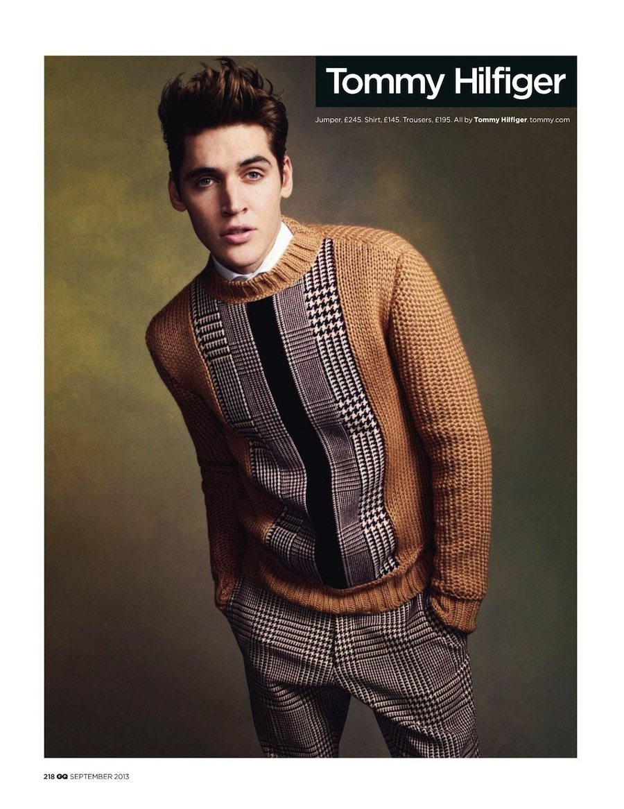Tony Kim Photographs the Fall Collections for British GQ