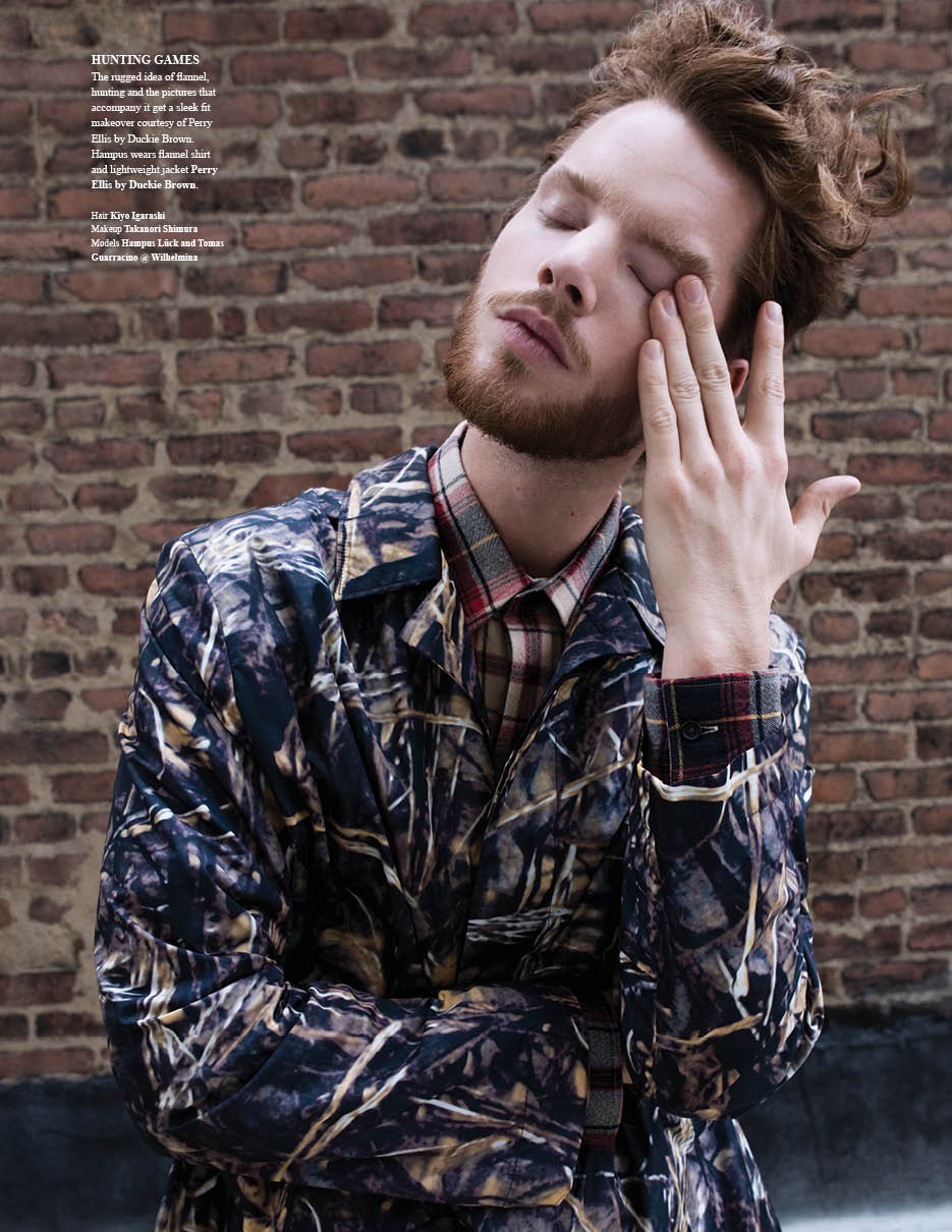 Hampus Lück & Tomas Guarracino are 'Wild Things' for Fashionisto #8
