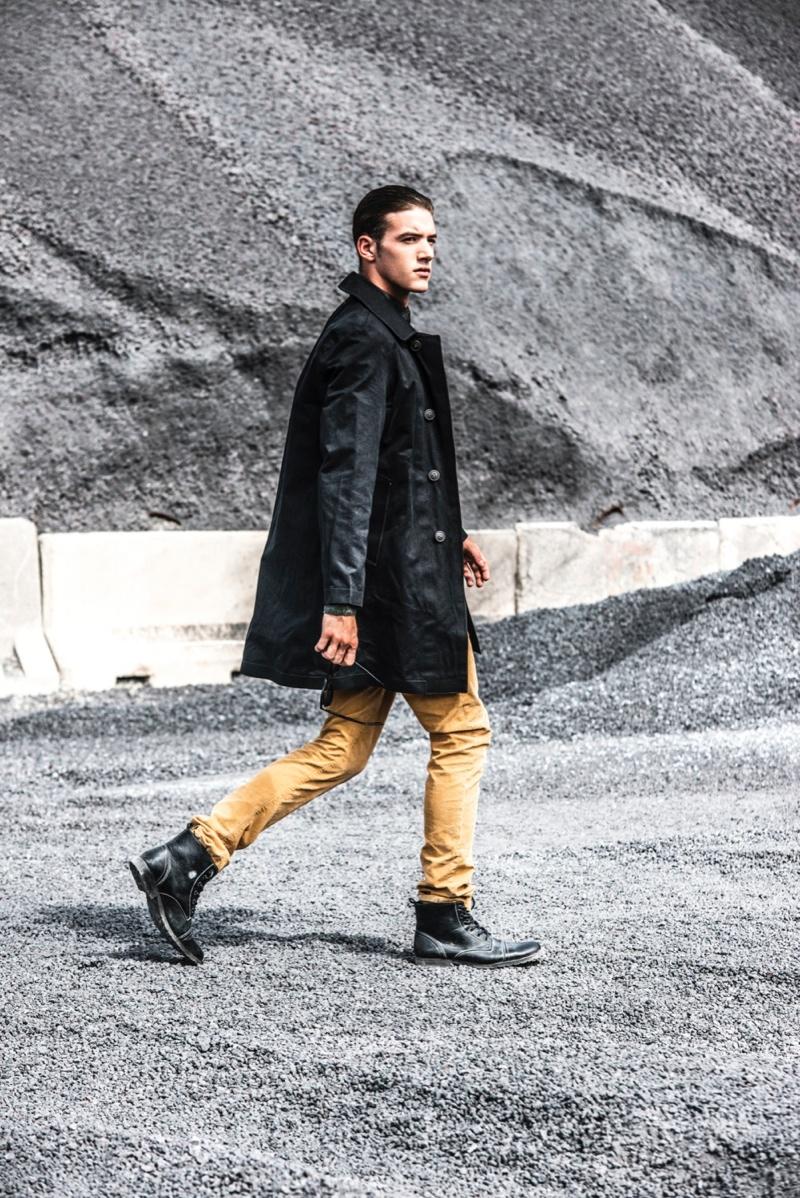 Xavi Castan by Rubén Suárez for Fashionisto Exclusive