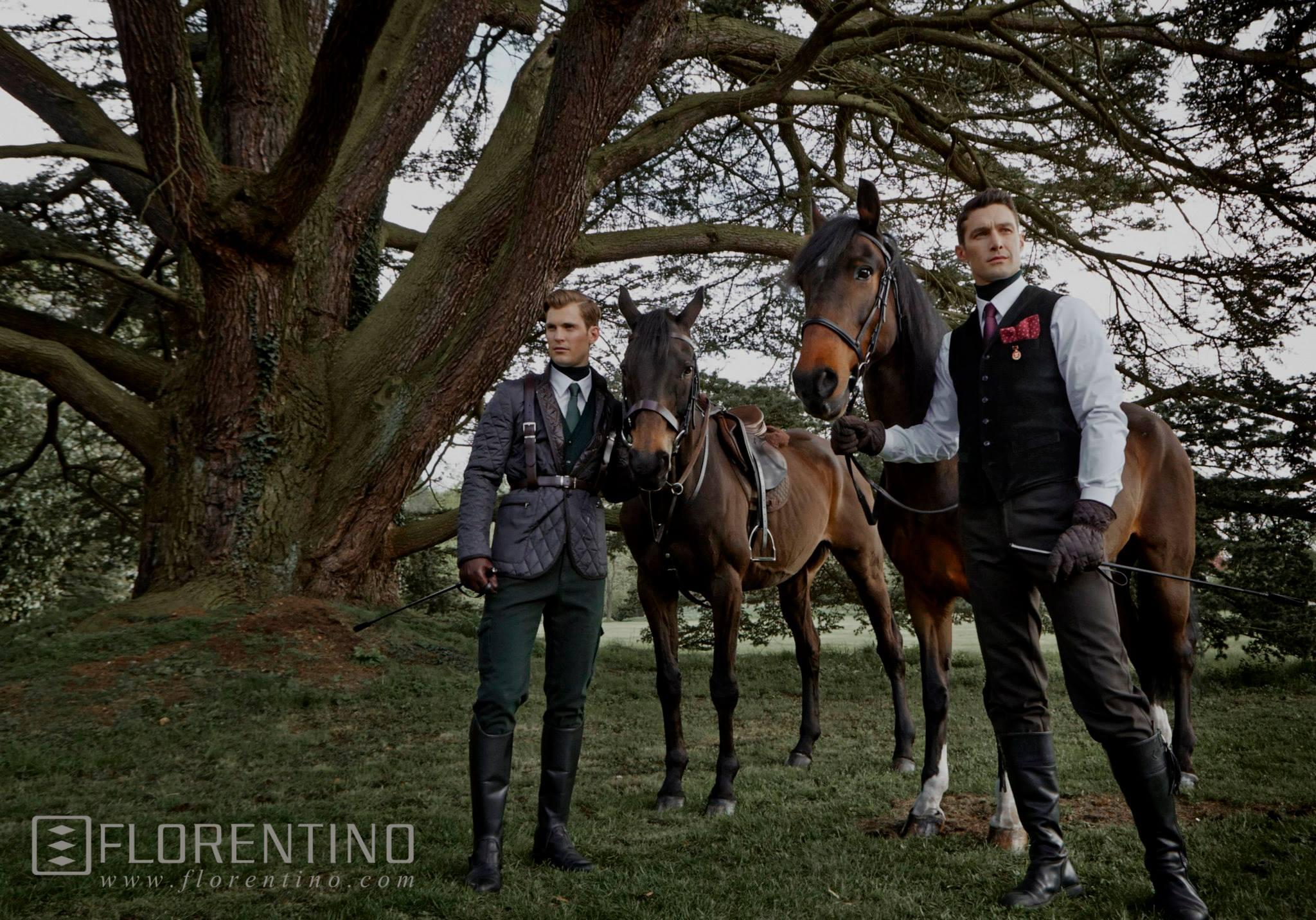 David Guillo & Lasse Hansen Star in Florentino Fall/Winter 2013 Campaign