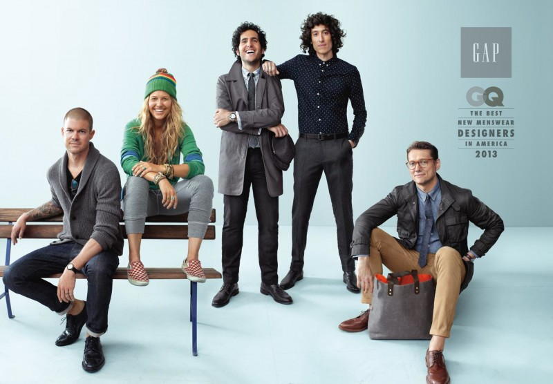 Gap x GQ 2013 Best New Designers Collection Highlights
