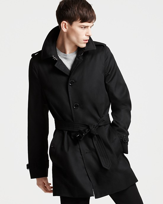 Burberry London Single-breasted Trench Coat