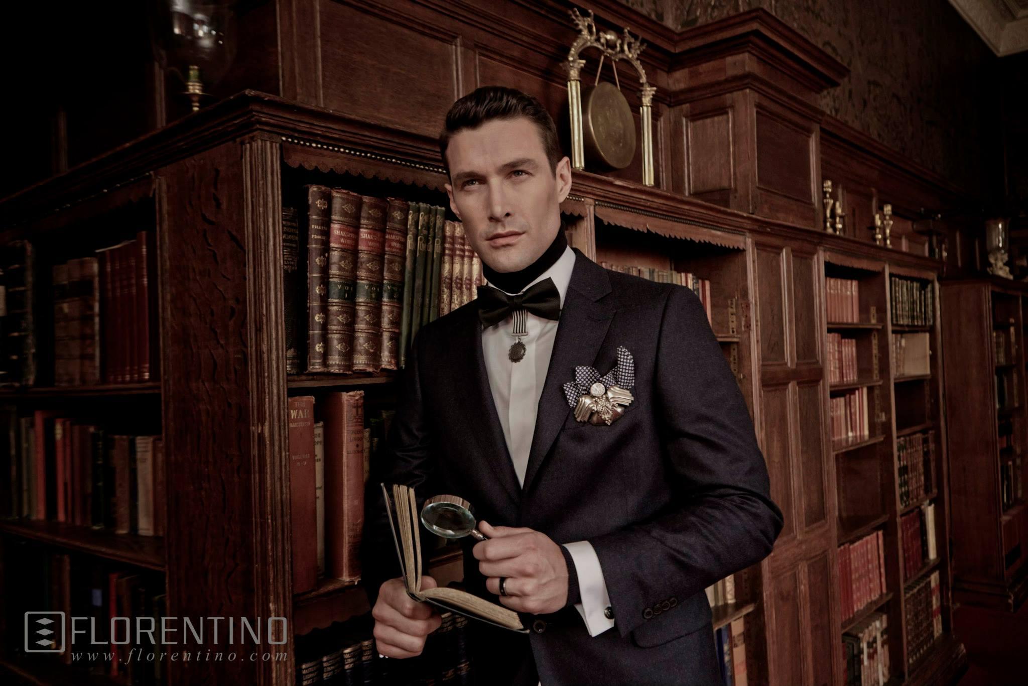 David Guillo Amp Lasse Hansen Star In Florentino Fall Winter