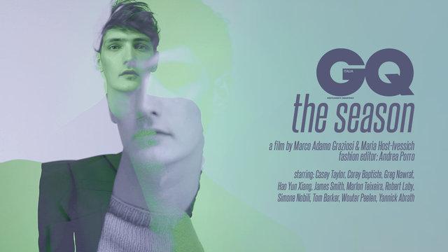 Marlon Teixeira, Simone Nobili, Yannick Abrath + More Star in 'The Season' for GQ Italia