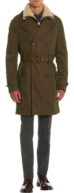 Burberry Brit Trench Coat