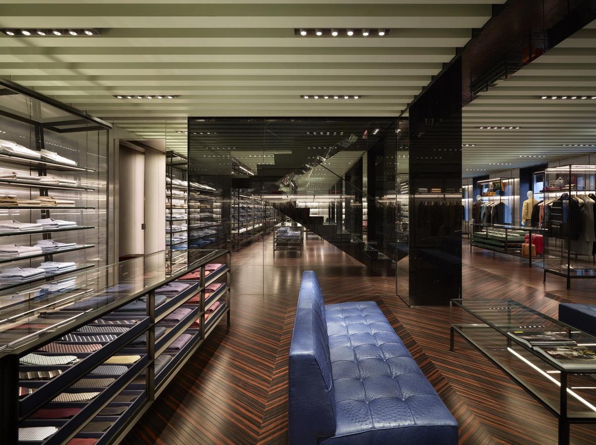 Prada Opens A New Men S Store In Via Monte Napoleone
