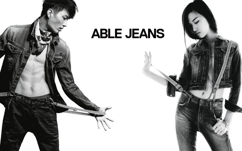 Noma Han, Dylan Fosket & Marc Sebastian Faiella for Able Jeans Fall/Winter 2013 Campaign