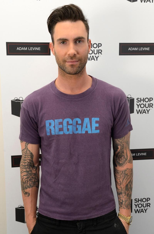Adam Levine Reveals His New Line The Fashionisto
