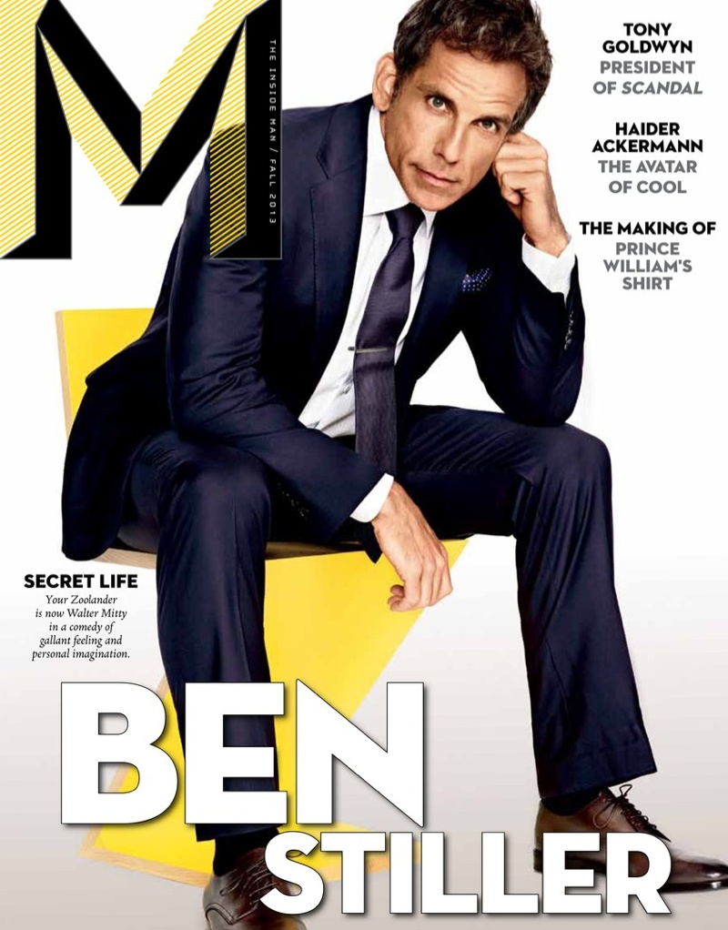 Ben Stiller Covers M Magazine