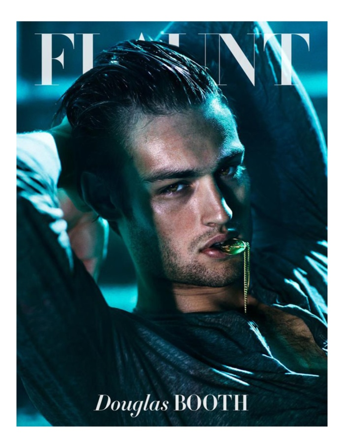 Douglas Booth is Flaunt's Latest Cover Star
