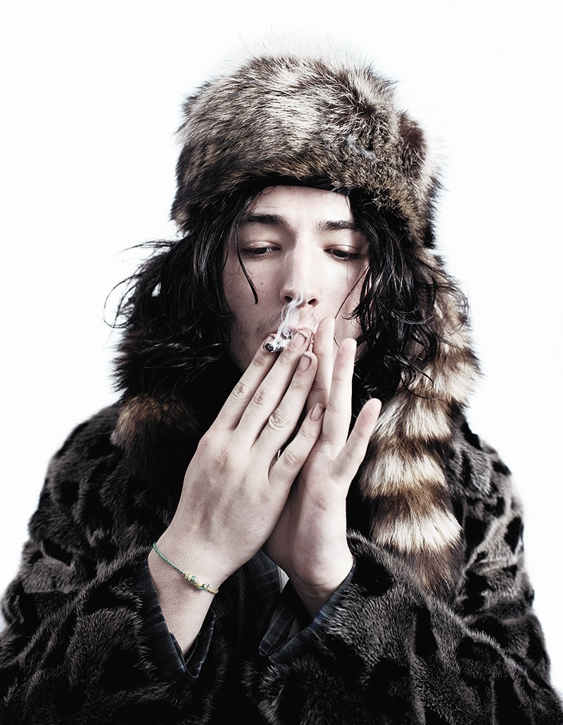 Ezra Miller Covers the Fall/Winter 2013 Issue of AnOther Man